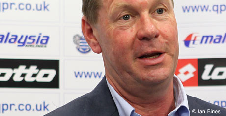 QPR chief executive Philip Beard