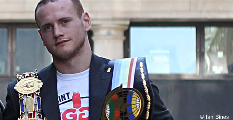 Groves defends his titles on Saturday