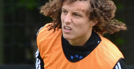 Luiz could be available for United clash