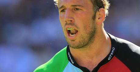 Harlequins' Robshaw out for three months