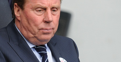 QPR manager Harry Redknapp.