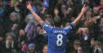 Lampard is a huge favourite among Chelsea supporters.