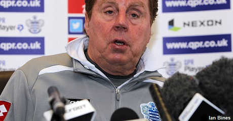 QPR boss Redknapp insists Mackie was injured for City clash