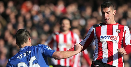 Brentford battled at the Bridge.