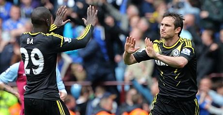 Lampard breaks record in Chelsea victory
