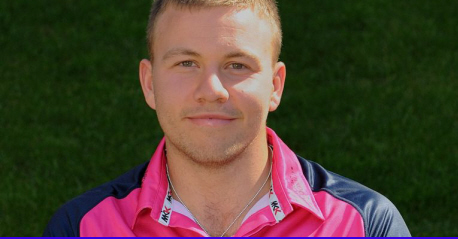 Adam Rossington in Middlesex's t20 kit