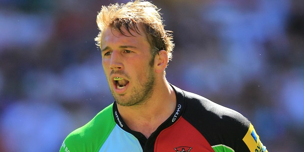 Robshaw signs new Harlequins contract