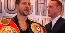 Groves and Froch meet face-to-face ahead of title showdown