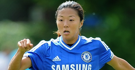 Yuki Ogimi of Chelsea Ladies
