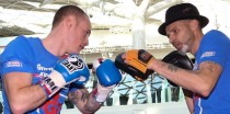 Paddy Fitzpatrick and George Groves