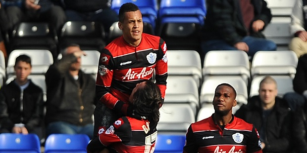 Morrison scored both QPR's goals at St Andrews.