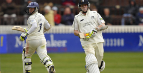 Chris Rogers and Sam Robson