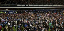 Rangers' victory prompted scenes of wild celebrations at Loftus Road