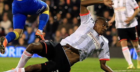 Soccer - Capital One Cup - Fourth Round - Fulham v Derby County - Craven Cottage