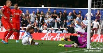 Vargas netted his first goal since joining Rangers in the summer