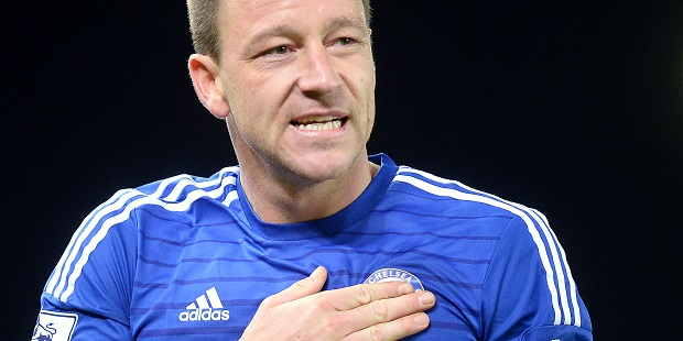 Mourinho 'happy' fans are backing Terry