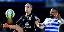 Soccer - Barclays Premier League - Queens Park Rangers v Everton - Loftus Road