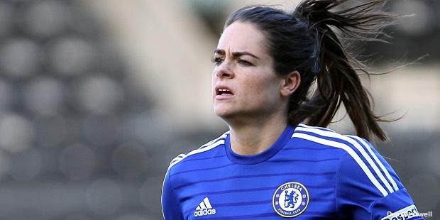 Claire Rafferty of Chelsea Ladies