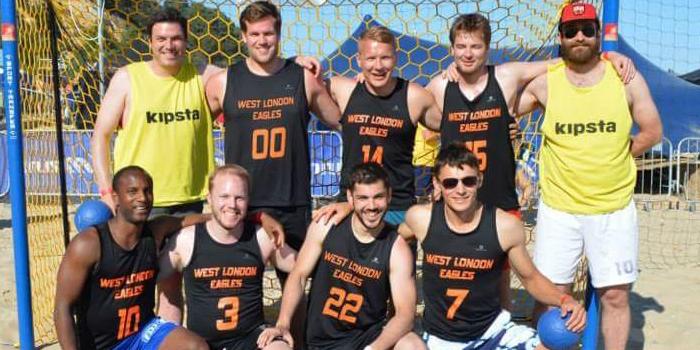 Old foes deny Ruislip Eagles in beach handball final