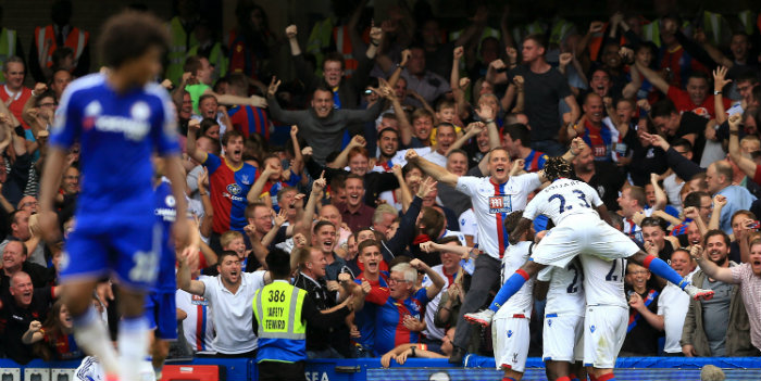 Chelsea suffer shock defeat against Palace