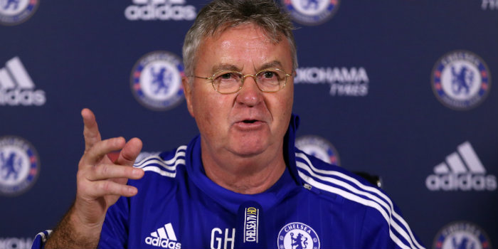 Chelsea interim boss Guus Hiddink