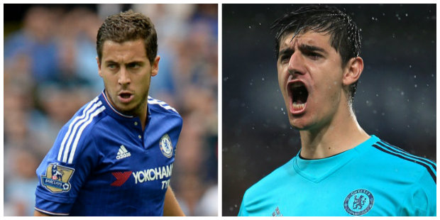 Conte shrugs off speculation over Courtois and Hazard