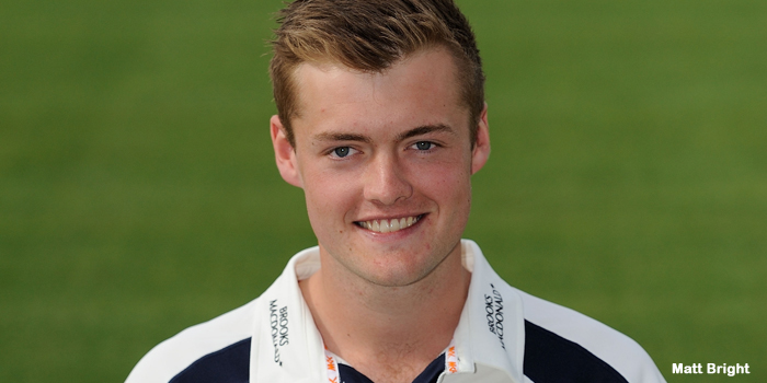Helm hailed as top prospect after signing Middlesex deal