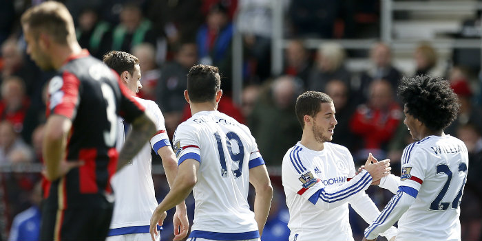 Chelsea enjoyed a resounding win on the south coast