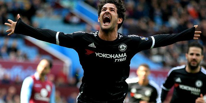 Alexandre Pato scored one of Chelseas goals at Villa Park