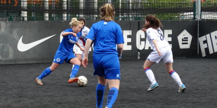 Girls showcase their skills in Football Festival at Wembley