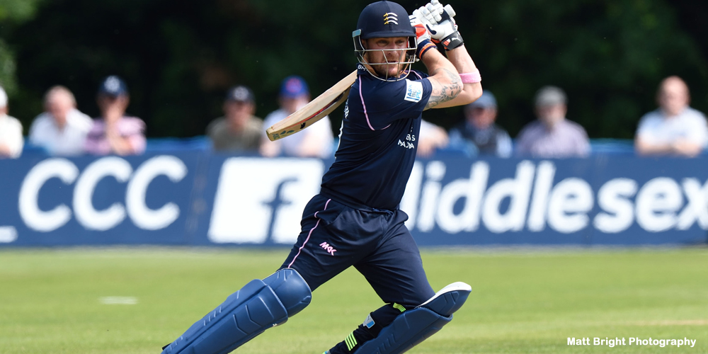 McCullum rejoins Middlesex for T20 Blast