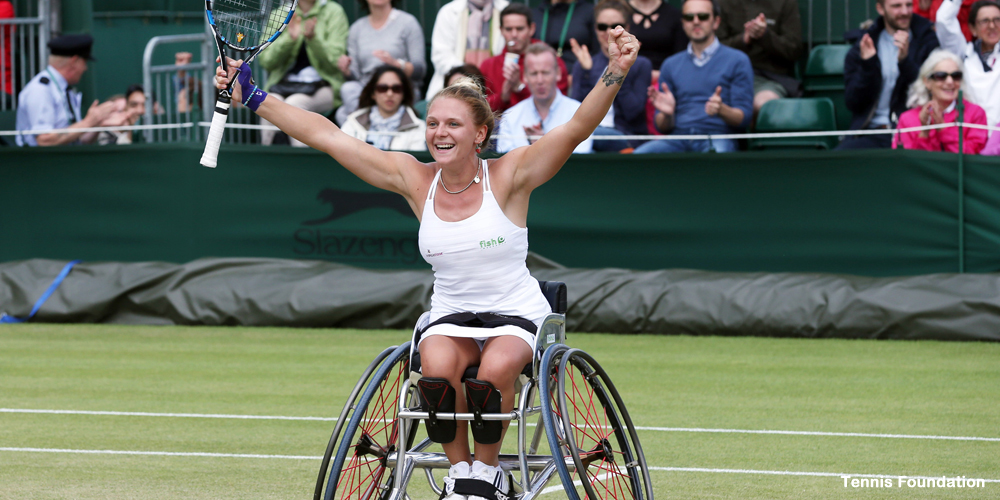 Jordanne Whiley Wimbledon 2015