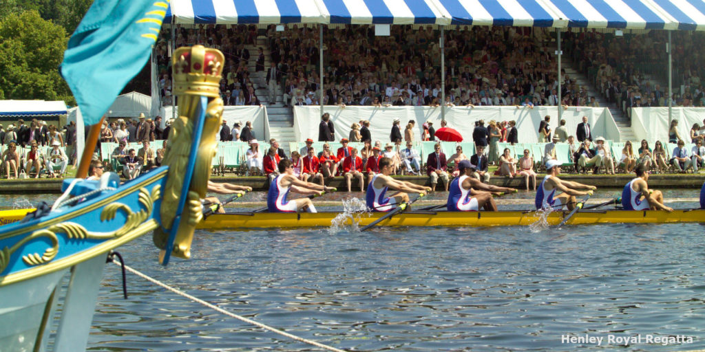 Thames RC win Henley trophy after American team crash