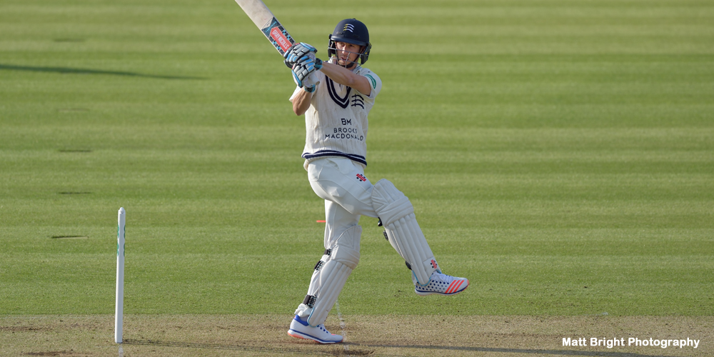 Middlesex relegated 12 months after winning title