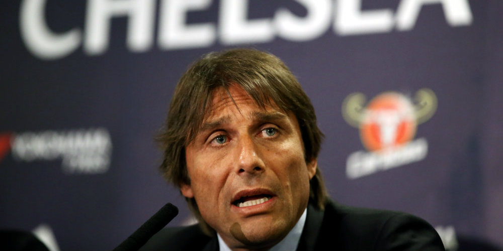 Conte saw 'two faces' of Chelsea in shock defeat