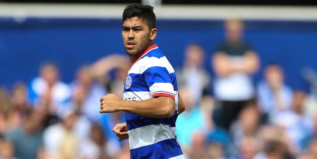 QPR's Luongo back in training