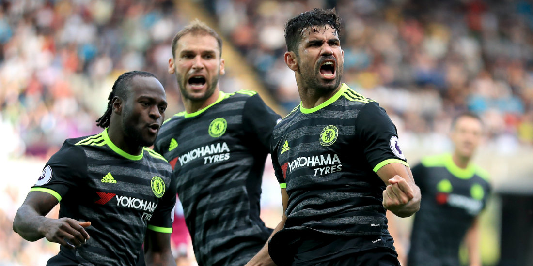 Costa scored a late equaliser for Chelsea
