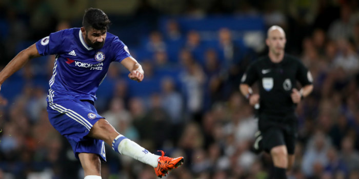 Costa back with a bang as Chelsea go eight points clear