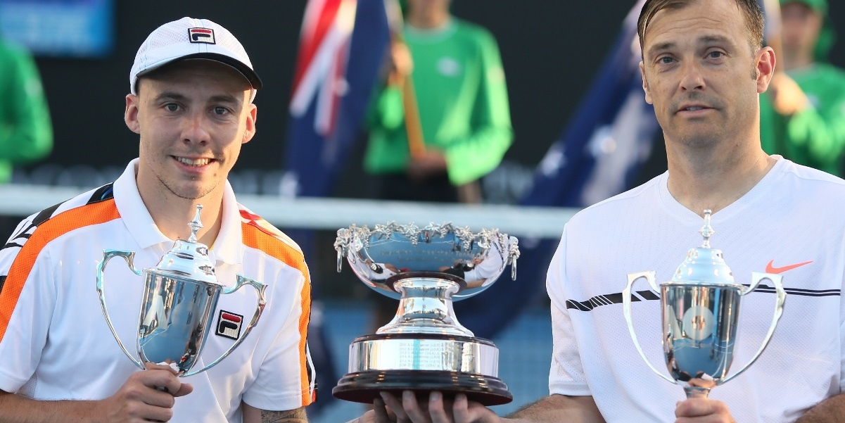 Lapthorne seals fifth Aussie Open doubles title
