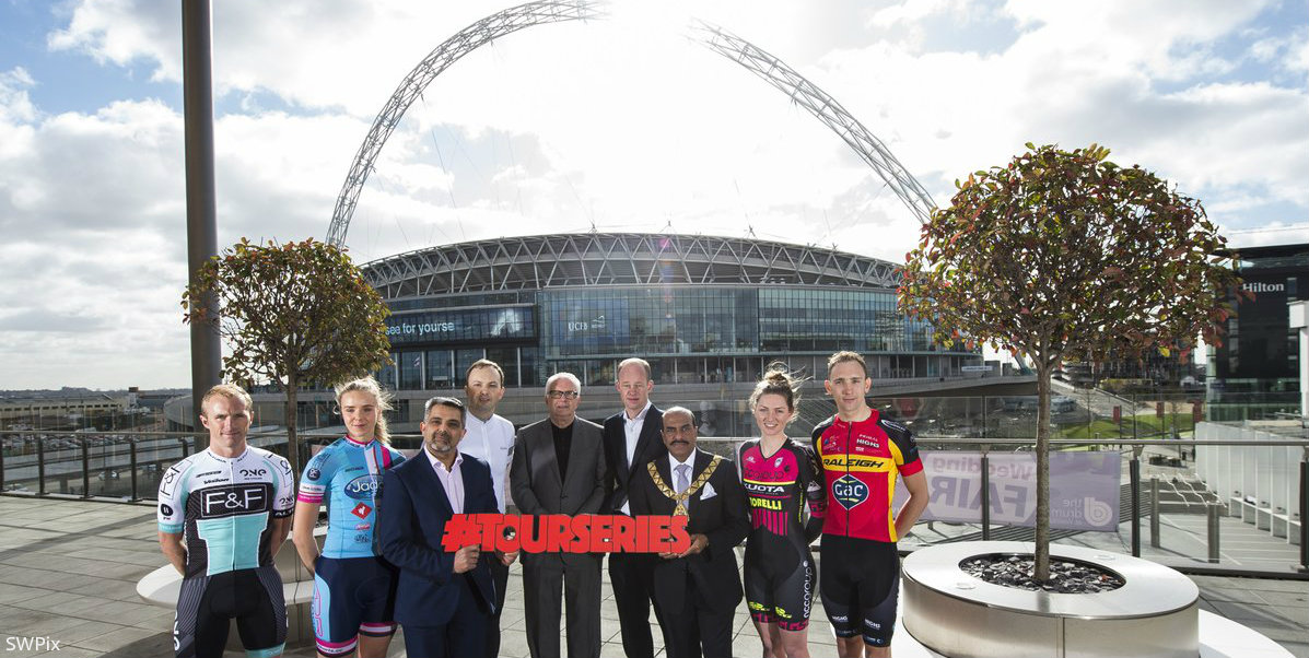 Top cycling teams to race on Wembley Way