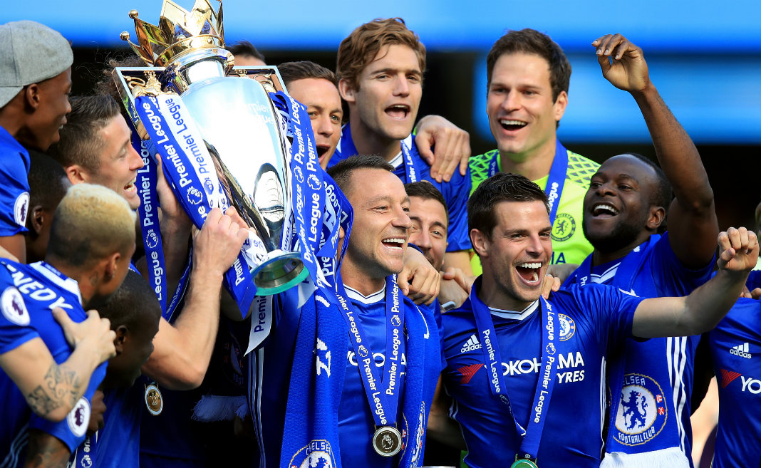 History-making win for Chelsea in Terry's Bridge farewell