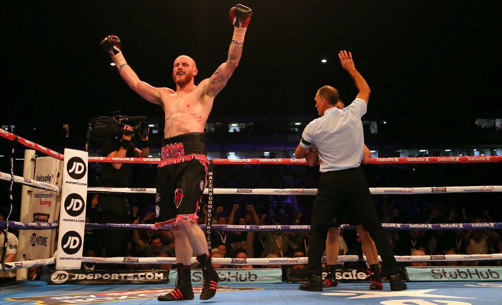 Groves crushes Chudinov to become world champion