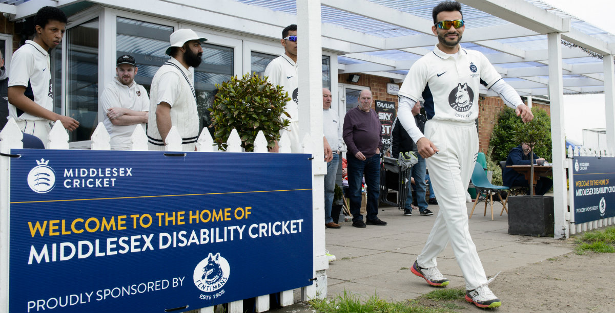 New home at Chiswick for Middlesex's disability side