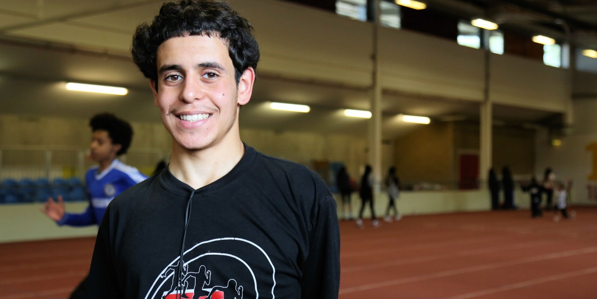 Track Academy's Amar ready to take on world's best