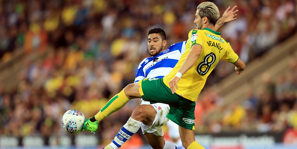 QPR's unbeaten start ended by Norwich