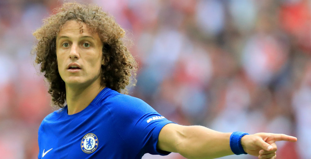 Luiz still struggling with 'serious' knee problem – Conte