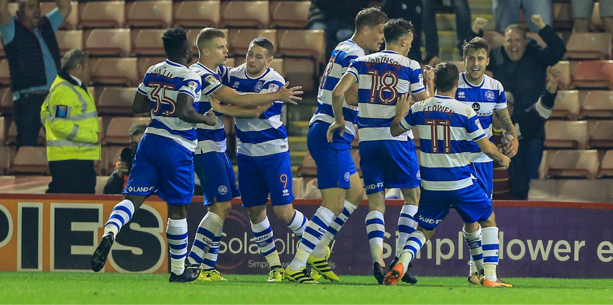 Freeman's cracking goal rescues point for QPR