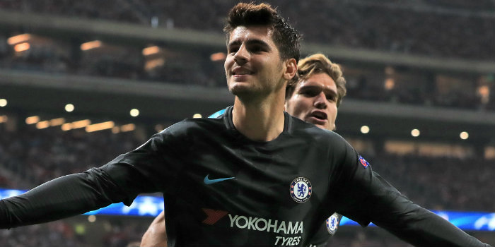 Conte pleased with Morata's fitness
