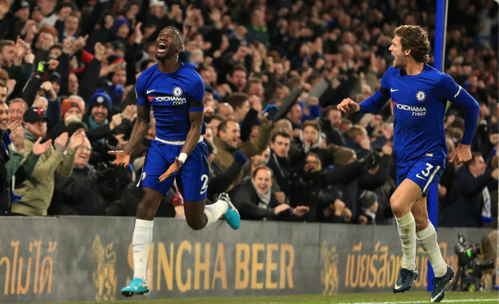 Rudiger's goal gives Chelsea victory over Swansea