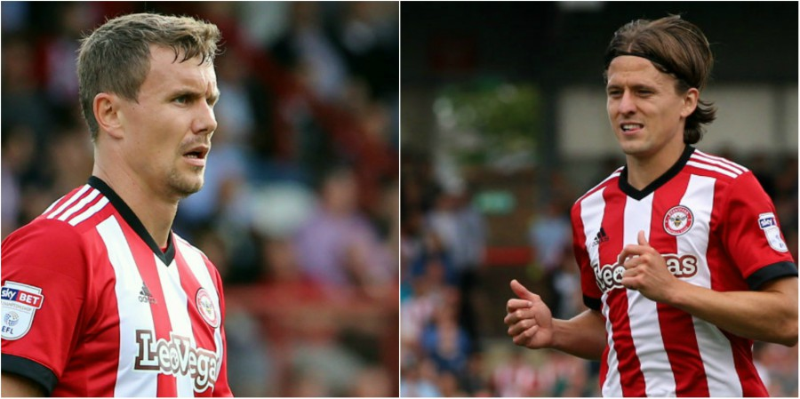 Brentford will listen to offers for Bjelland and Vibe